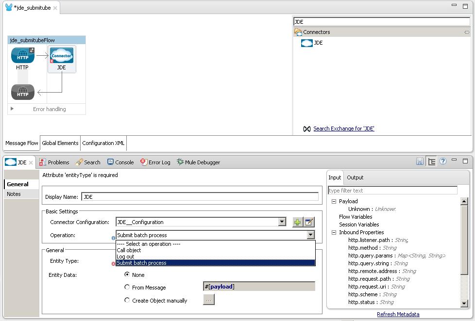 modusbox s jde connector rh modusintegration github io JDE World Oracle JDE EnterpriseOne